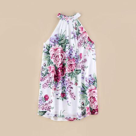 تصویر از پیراهن گلدار