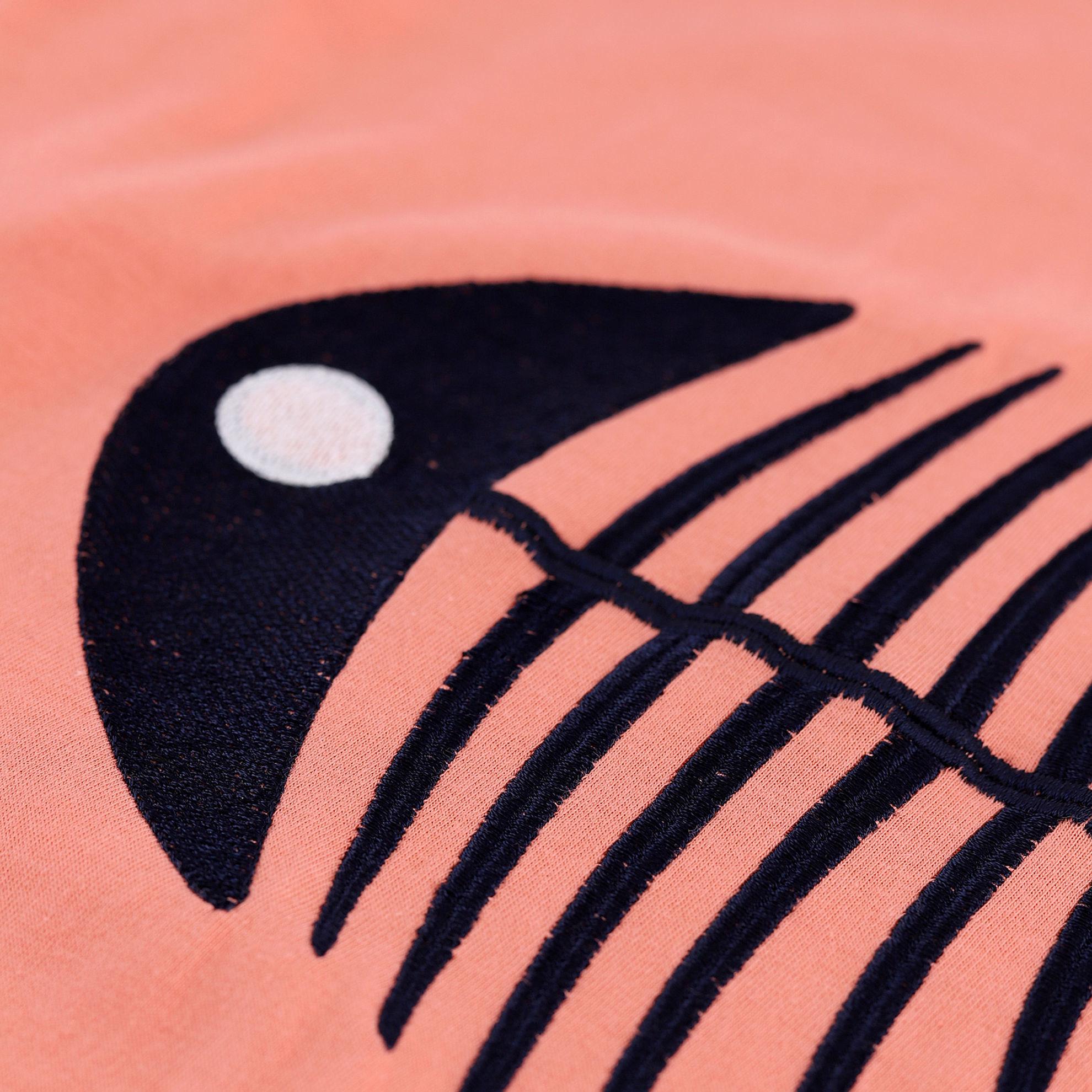 تصویر از ست تیشرت و شلوار بگ طرح ماهی
